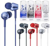 Sony MDR-EX250AP Earphone Noise Brass Housing Microphone In-Ear With Mic