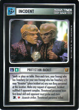 STAR TREK CCG RULES OF ACQUISITION RARE CARD PROTECTION RACKET