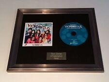 SIGNED/AUTOGRAPHED VICTORIA JUSTICE - VICTORIOUS FRAMED CD PRESENTATION. RARE