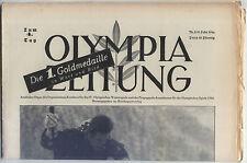 09.02.1936 OLYMPIA ZEITUNG Number 5 - Olympic Games Garmisch-Partenkirchen 1936
