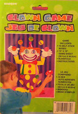 Pin / Stick the Nose on The Clown Childrens Birthday Party Game