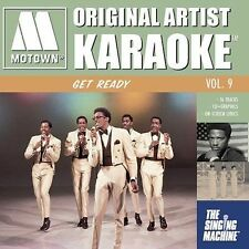 NEW Get Ready - Original Artist Karaoke Vol. 9, The Singing Machine (CD+G 2004)