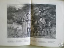 Summer's Holiday starting the team A Hopkins 1878 print
