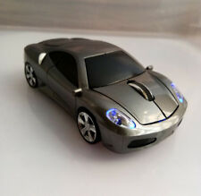 2.4GHz Wireless Optical Ferrari Car Mouse Game Mice USB Dongle for PC Laptop MAC