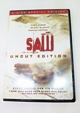 Saw (DVD, 2005, Uncut Edition, 2 Discs)
