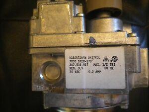 ROBERTSHAW 7000 BGVER-S36 NEW EF53CK198 COMB. GAS VALVE 24V 1 Stage 240000BTU