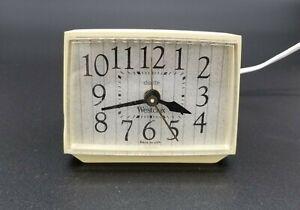 Vintage 60s Westclox Bold II Dialite Electric Alarm Clock Model 22424 - WORKING!