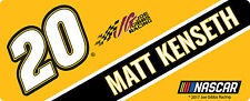 NASCAR #20 Matt Kenseth Bumper Sticker-NASCAR Decal