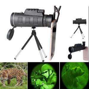 40X60 Monocular Starscope Zoom Lens Clear Night Vision Brightness Telescope Tool