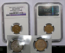 1909-S/HORIZONTAL S LINCOLN NGC UNC. DETAILS INV#333-B11