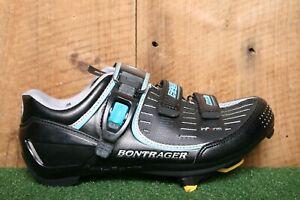 BONTRAGER Inform 'Road Race' Blue, Black & Silver Bike Cycling Shoes Women's 8.5