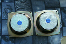 "2 pcs NOS NIB never used vintage Goodmans 4 Ohm 4"" Midbass speakers dimension 8"