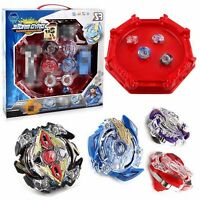 Beyblade Burst 4D Set With Launcher Arena Metal Fight Battle Fusion Classic Toys