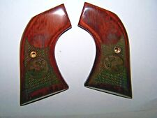 RUGER BLACKHAWK ROSEWOOD MEXICAN EAGLE CHECKERED GRIPS ALTAMONT