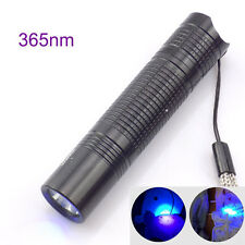UV Led Flashlight Blacklight 365Nm Purple Ultra Violet Torch AA Money Detection