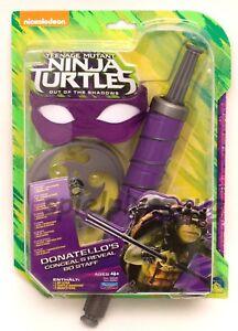 Teenage Mutant Ninja Turtles Rollenspielset Donatello Set Ultimative Kampf NEU