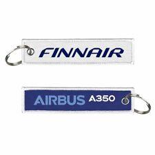 Finnair-A350 Woven Keychain
