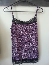 Maurices womens ladies large tank cami w/lace WITH TAG