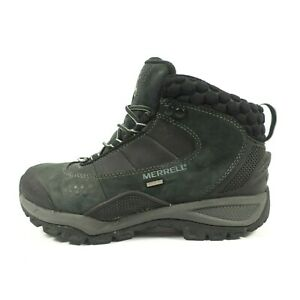 Merrell Waterproof Insulated Vibram Leather Hiking Boots - Women's Size 6.5