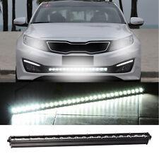 1x 72W 24 LED Work Light Bar Lamp SUV Car Truck 12V Driving Fog Offroad Black