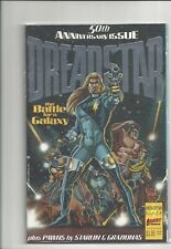 Dreadstar #50 - 1986 - First Comics - 9.0 - Cardstock Silver Embossed cover