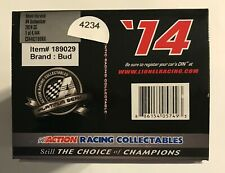 2014  #4  KEVIN HARVICK  BUDWEISER  - 1/24th SCALE  #4234