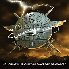 MASTERS OF METAL - Volume 3 (NEW*HELL ON EARTH*DEATHINITION*ANCTIFYRE*WEAPONLORD