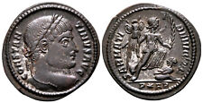 More details for constantine the great (323 ad) rare follis. arles #tc 8056