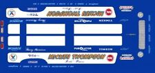 Mickey Thompson Pistons & Rods Mustang Funny Car  1/24th - 1/25th Scale Decals