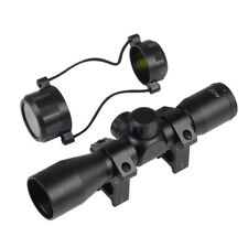 4 x 32 Telescopic Sight Scope with 20mm Picatinny Rail Mounts For Air Rifle Gun