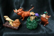 Lion King Disney Timon and Pumba Lot of Figures Vintage Pig Applause