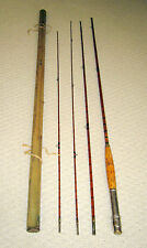 VINTAGE BAMBOO ROD 4 piece
