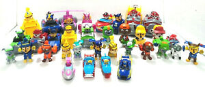 Paw Patrol Figures And Vehicles Lot of OVER 40 different pieces in all!
