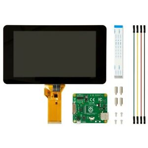 Raspberry Pi 7-Inch Touch Screen Display Black Touchscreen - Brand New