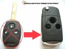 3 button flip key case upgrade for Honda Accord Civic Jazz CRV remote key