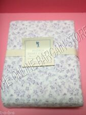 Pottery Barn Kids Andrea Floral Flower Blooms Bed Duvet Cover Lavender Twin