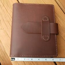 Handmade leather Field Notebook