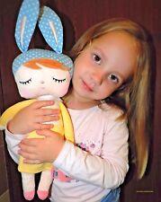 Adorable Gift Plush Girls Doll Metoo Me Too Bunny Ears Bedtime Sleeping Angela