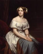 """oil painting on canvas""""  Swedish opera singer Johanna Maria """"N11141"""