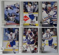1996-97 Upper Deck UD Series 2 Edmonton Oilers Team Set of 6 Hockey Cards
