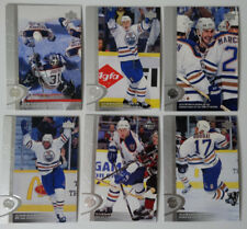 1996-97 Upper Deck UD Series 2 Edmonton Oilers Team Set of 6 Hockey Cards