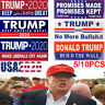 USA 2020 Donald Trump for President Make America Great Again Bumper Stickers LOT