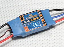 Hobbyking 60A ESC 4A SBEC Sensorless Brushless Motor Speed Controller Plane Heli