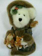 New Boyds Bears Fern Woodsbeary Tjs Dress Collection #99792 Plush Bear 18I052