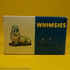 Wade Whimsies (1971/84) Retail Storage Box (1980/Set #12) - #59 Walrus