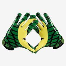 Limited Edition Nike Oregon Ducks Vapor Jet 2.0 Pro Combat Receiver Gloves - NEW
