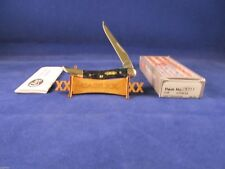 Case 2012 Texas Toothpick Knife Hunter Green Bone Handles Mint In Box CA28311