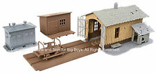 Walthers Trainline 11634 Ho Trackside Tool Buildings Kit 931-909 Building New I