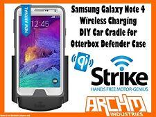 STRIKE SAMSUNG GALAXY NOTE 4 WIRELESS CHARGING CAR CRADLE OTTERBOX DEFENDER DIY