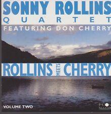 CD Album Sonny Rollins Quartet Fearuring Don Cherry Rollins Meets Cherry 90`s